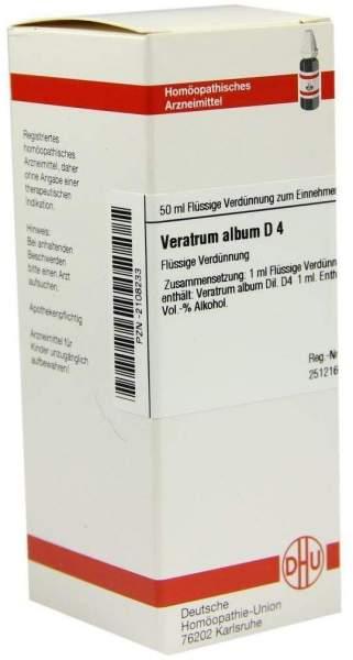 Veratrum Album D4 Dhu 50 ml Dilution