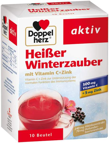Doppelherz Heißer Winterzauber Vitamin C + Zink Granulat 10 Stück