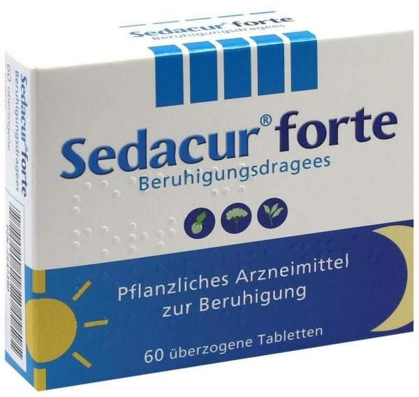 Sedacur Forte Beruhigungsdragees 60 Stück