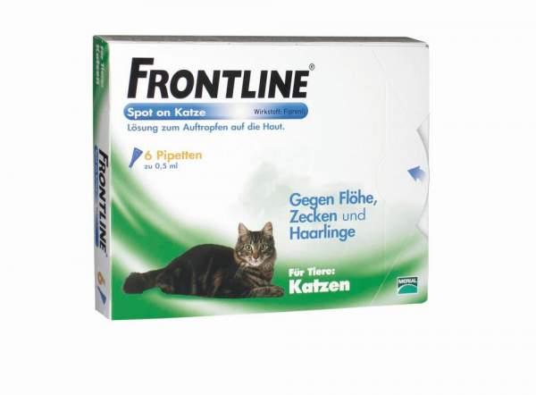 Frontline Spot On Katze vet. Lösung 6 Applikatoren