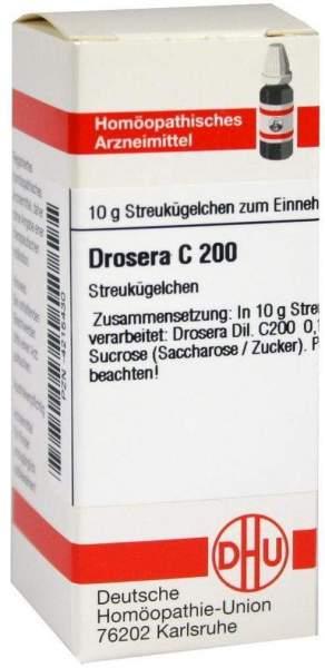 Drosera C 200 Globuli
