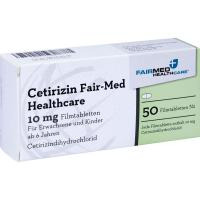 Cetirizin Fair-Med Healthcare 50 Filmtabletten