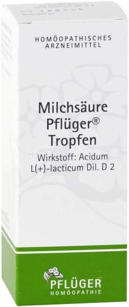 Milchsäure Pflüger Tropfen 100 ml