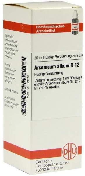 Arsenicum Album D 12 20 ml Dilution