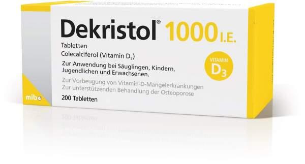Dekristol 1.000 I.E. 200 Tabletten