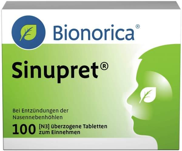 Sinupret 100 überzogene Tabletten