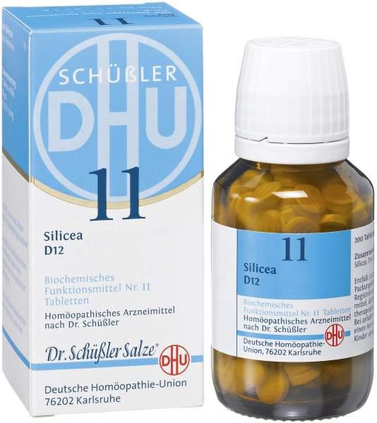 Biochemie DHU 11 Silicea D12 200 Tabletten
