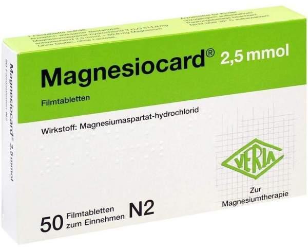 Magnesiocard 2,5 Mmol 50 Filmtabletten