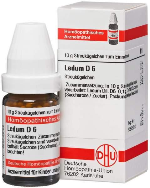 Ledum D 6 10 g Globuli