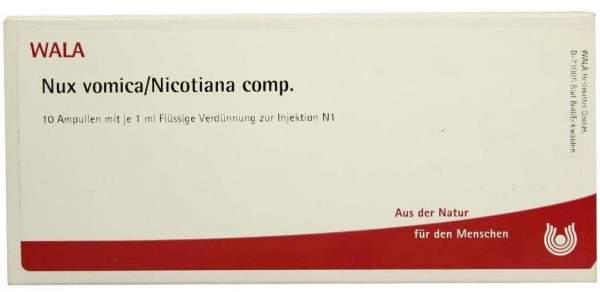 Nux Vomica - Nicotiana Comp. 10 X 1 ml Ampullen
