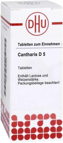 Cantharis D 5 Dhu 80 Tabletten