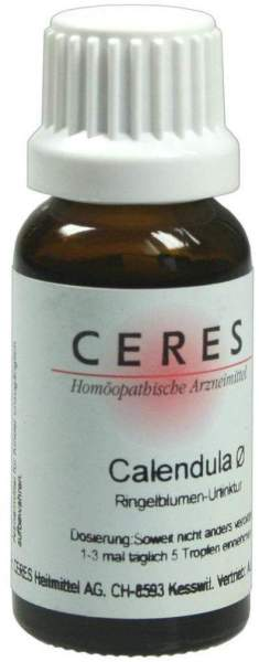 Ceres Calendula Urtinktur 20 ml Tropfen