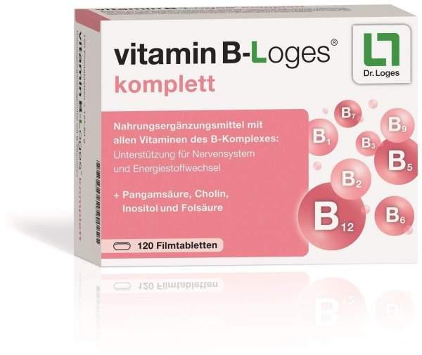 Vitamin B-Loges Komplett 120 Filmtabletten