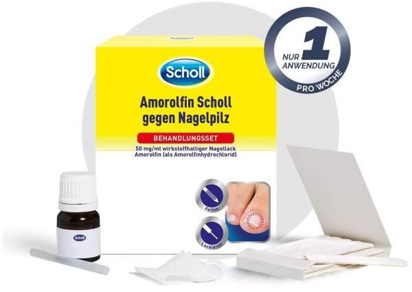 Amorolfin Scholl gegen Nagelpilz Behandlungsset 2,5 ml