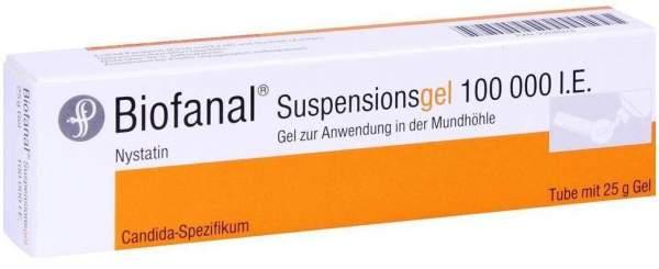 Biofanal Suspensionsgel 25 G Gel