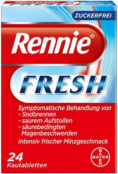 Rennie Fresh zuckerfrei 24 Kautabletten