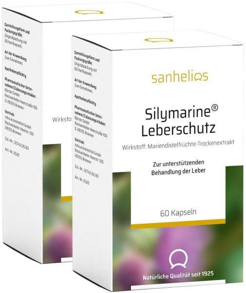 Silymarine Leberschutz Kapseln 2 x 60 Stück