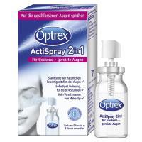 Optrex ActiSpray 2in1 10 ml für trockene + gereizte Augen  10 ml