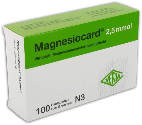 Magnesiocard 2,5 Mmol 100 Filmtabletten