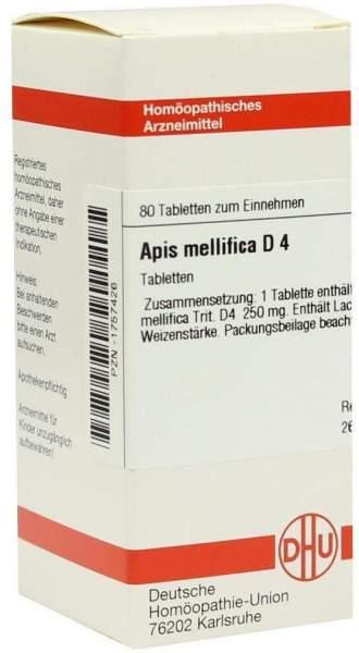 Apis Mellifica D4 80 Tabletten