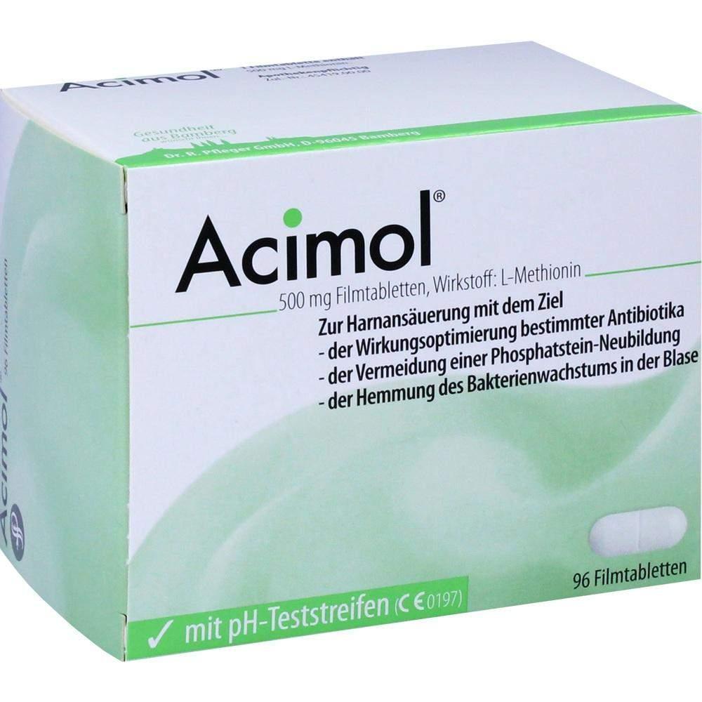 Acimol Mit Ph Teststreifen 96 Filmtabletten