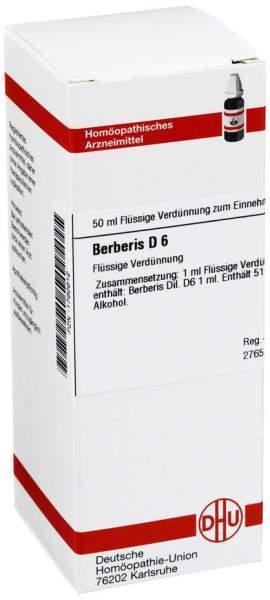 Berberis D6 50 ml Dilution