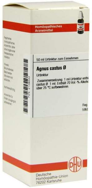 Agnus Castus Urtinktur Dhu 50 ml Dilution
