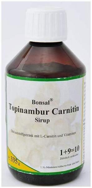 Bonsal Topinambur Carnitin Sirup 335 G