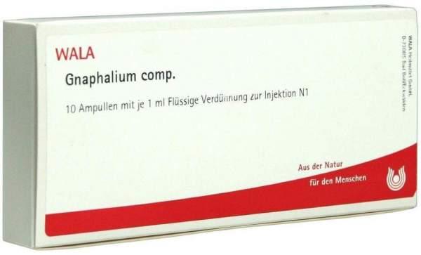 Gnaphalium Comp. Ampullen 10 X 1 ml