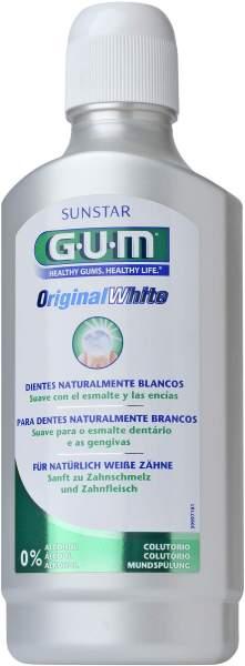 Gum Original White Mundspülung Ohne Alkohol 500 ml Lösung