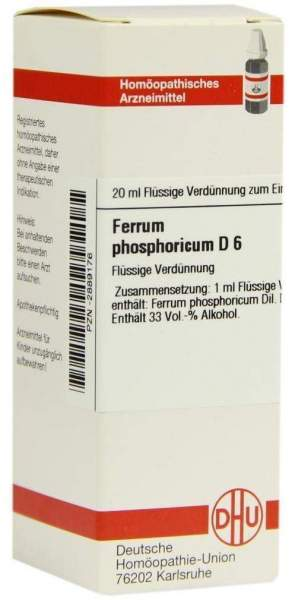 Ferrum Phosphoricum D 6 20 ml Dilution