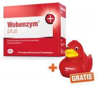 Wobenzym plus 100 Tabletten + gratis Badeente