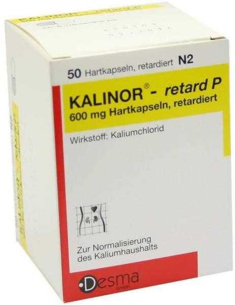 Kalinor Retard P 50 Kapseln