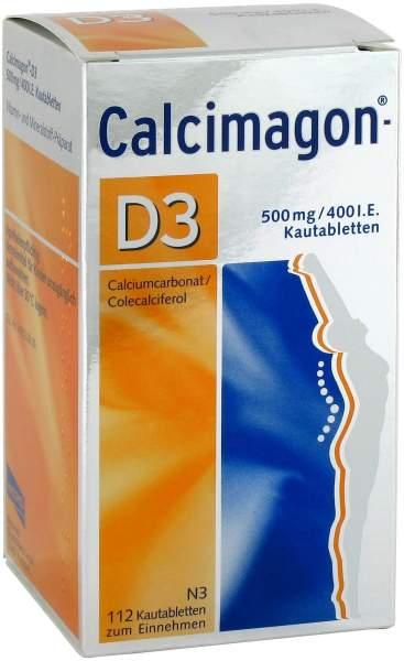 Calcimagon D3 112 Kautabletten