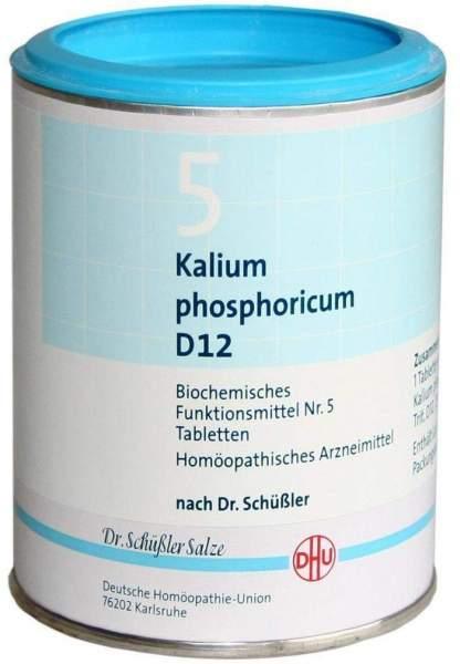 Biochemie Dhu 5 Kalium Phosphoricum D12 1000 Tabletten