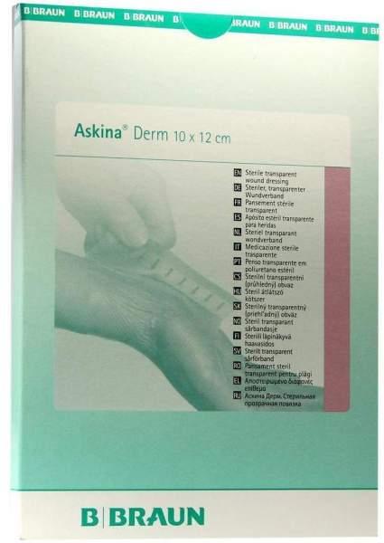 Askina Derm Transparentverband 10x12cm Steril