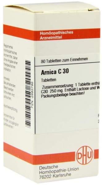 Arnica C30 80 Tabletten