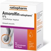 Amorolfin-ratiopharm 5% 5 ml Lösung