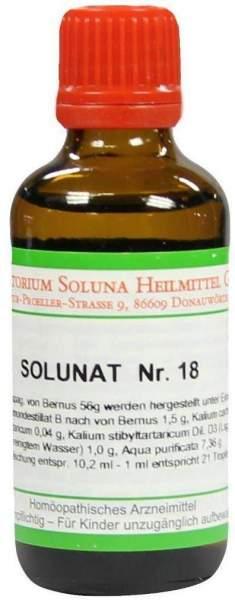 Solunat Nr.18 50 ml Tropfen