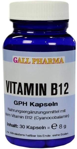 Vitamin B12 3 µg Gph 30 Kapseln