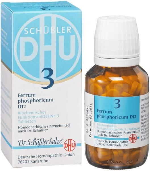 Biochemie DHU 3 Ferrum phosphoricum D6 200 Tabletten