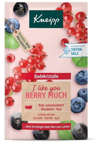 Kneipp Badekristalle I like you berry much 60 g Salz