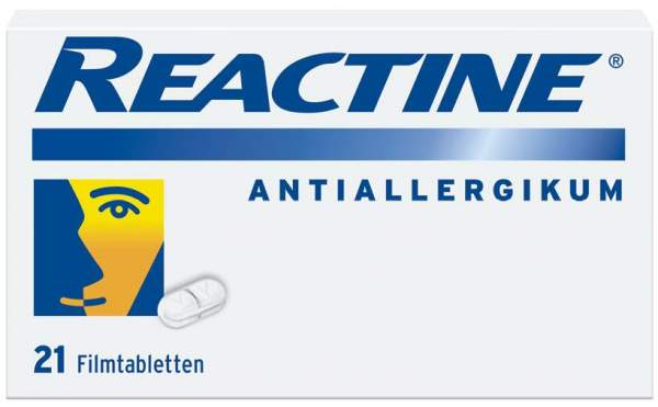 Reactine Antiallergikum 21 Stück