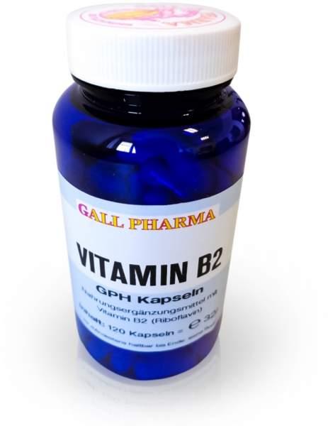 Vitamin B2 Gph 120 Kapseln