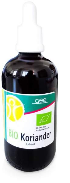 Koriander Extrakt Bio 23% Vol-% 100 ml Liqiudum