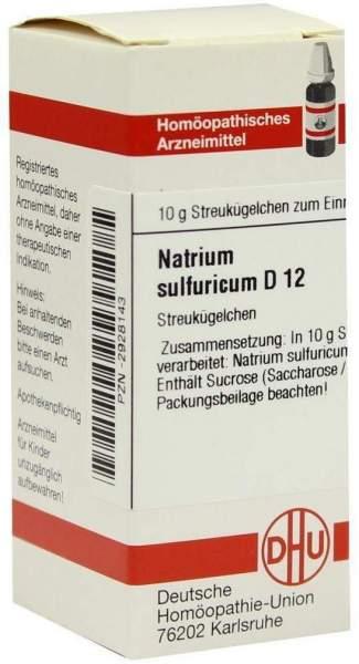 Dhu Natrium Sulfuricum D12 10 G Globuli
