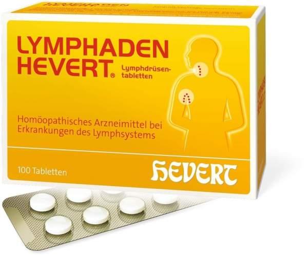 Lymphaden Hevert Lymphdrüsen Tabletten 100 Tabletten