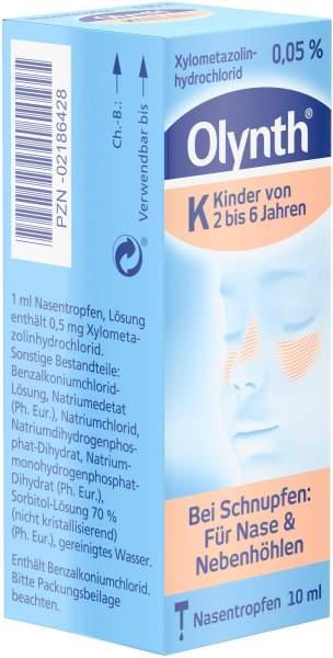 Olynth 0.05% für Kinder 10 ml Nasentropfen