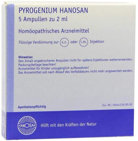 Pyrogenium Hanosan Injektionslösung