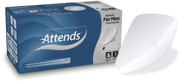 Attends For Men Inkontinenz Schale 1 4 X 25 Stück